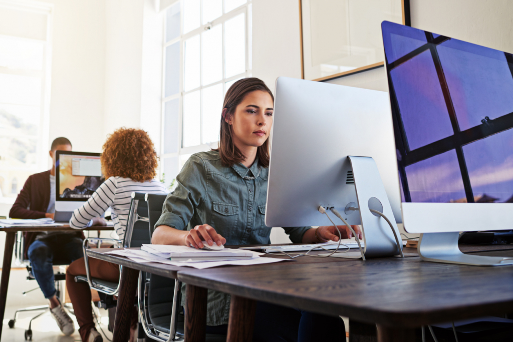 Technology ensures their workday is a productive one
