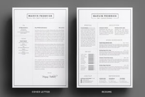 matching cover letter and cv